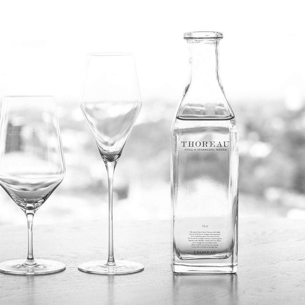 Klarglasflaskor